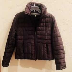 WARM Brown Kenneth Cole Goose Down Feather Coat